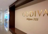 GODIVA Logo and Tagline