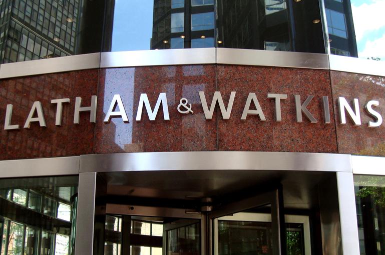 Latham & Watkins Exterior Corporate ID Logo