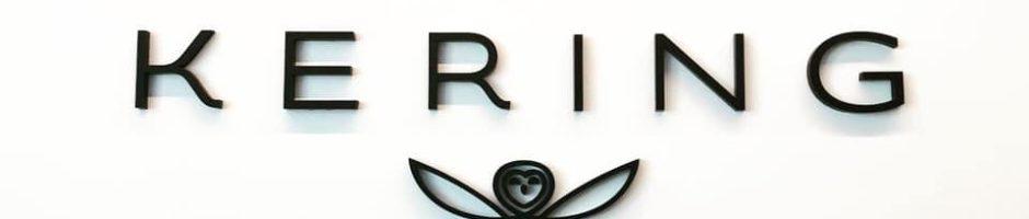 Kering Black Acrylic Logo ID