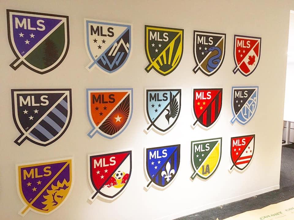 MLS Crest Wall