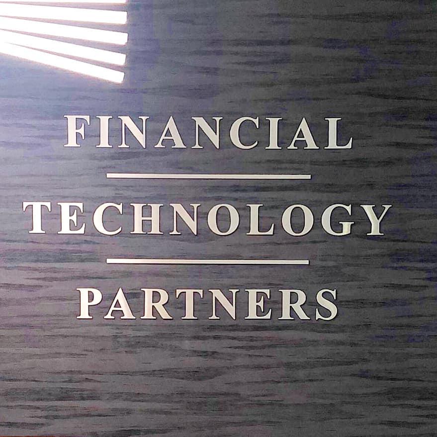 FT Partners Company Interior Signage